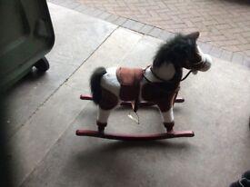 Kids horse