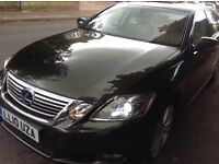 Lexus GS 450H hybrid 2010 (10) with cream leather,sat nav FSH only 1 previous keeper