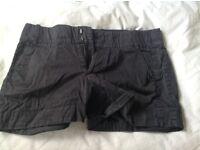 Black women's shorts
