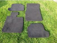 BMW car mats and boot liner