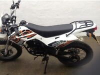 125 wks motorbike trail bike only had it 2 and half months from brand new all got new parts