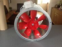 HELIOS HRFD 355/2 CASED AXIAL FAN - 3 phased
