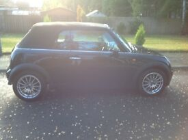 Sept 05 Mini Cooper Convertible (Chilli Pack)