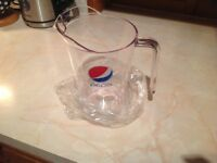 PEPSI 1.9 litre polycarbonate Pitchers box of 12