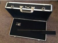 Effects pedal board, lockable, 500 x 255 x 90