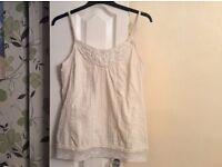 Beautiful Debenhams modern gypsy vest top