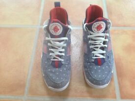 Nike Limited edition Men's trainers unique design very American Stars & Stripes .Bought in USA