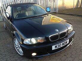 BMW 3 series 330ci CONVERTIBLE M SPORT, MANUAL, FULL HEATED LEATHER SEATS, HPI CLEAR, XENON LIGHTS