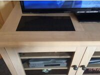 Tv unit - light wood colour