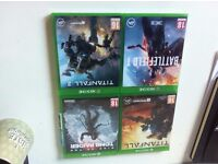 XBOX 1 Games including Titanfall 1 and 2, Tomb Raider