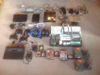 PlayStation 2 Xbox 360 Nintendo Wii Atari 2600 Games console job lot + Games inc Sega Megadrive