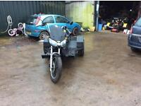 Honda CBC 650 nighthawk trike registered as trike on v5