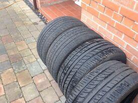 4. X 235x50x18 tyres evergreen eu72