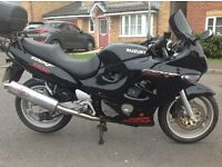 SUZUKI GSX 750F. 1998 model in excellent condition. Part exchange a pleasure