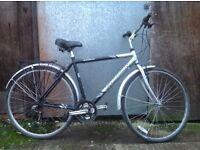 Falcon explorer Mens hybrid, commuter type bike