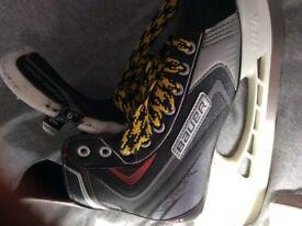 Bauer vapor ice hockey skates size 6.5
