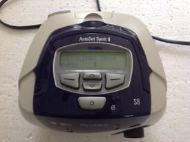 RESMED S8 CPAP AUTOSET SPIRIT 11 WITH POWER LEAD