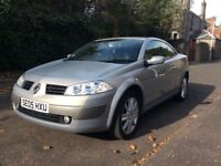2005 Renault Megane, MOT to Aug 2018, 2 owners, immaculate, low mileage, ideal first car £1500 ONO