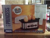 Brand new princess Egg Cooker and Mini steamer