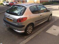 Peugeot 206 for repair/spares