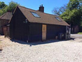 Oak framed Barn to rent