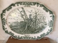 Large serving plate excellent condition 20ins x 15 ins