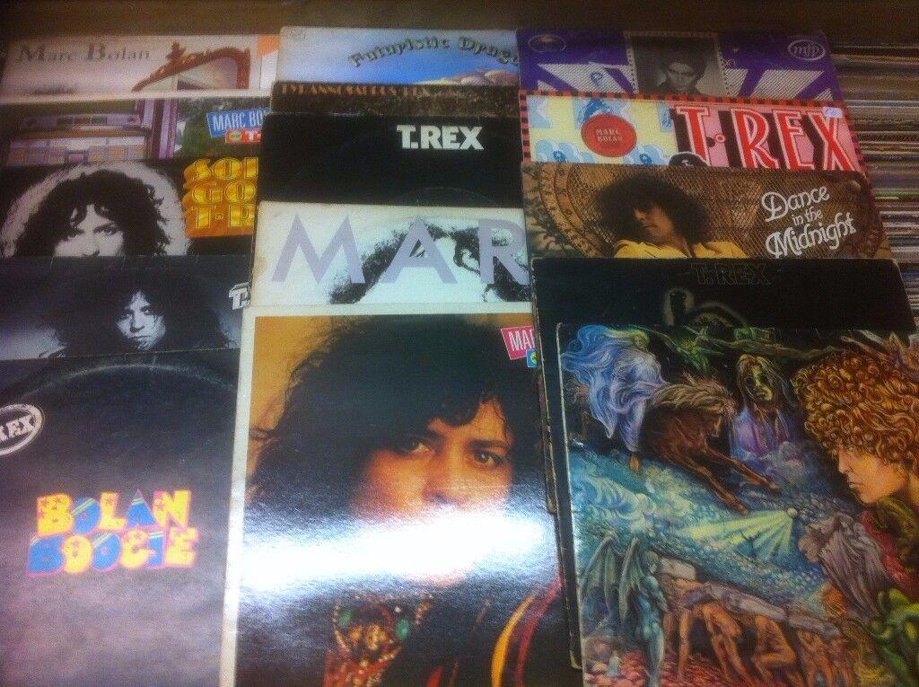 MARC BOLAN/T.REX ALBUMS