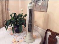 Tesco tower fan