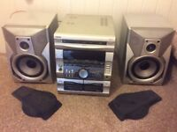 Sony RX77S Hifi Stereo And Speakers Music System
