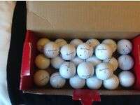 TItleist,Topflite,Pinnacle,Callaway,Nike,Dunlop Practise Grade Golf Balls