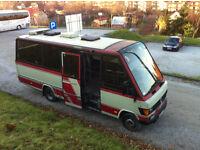 Mercedes 611 mini bus (no sprinter,no vario) 2.9 diesel 5 cylinder lhd left hand drive EXPORT