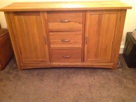 Sold Oak Sideboard
