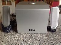 Dell subwoofer and speakers