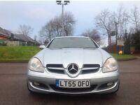 Supercharged Mercedes slk
