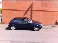 FORD FIESTA 1.6 GHIA 5 DOOR