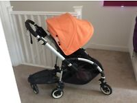 Bugaboo bee pushchair with lots of extras