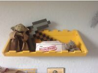 Digger shelf