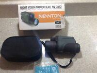 Newton Night Vision Monocular NV 3x42