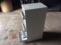 Grey Metal 15 Drawer Filing Cabinet