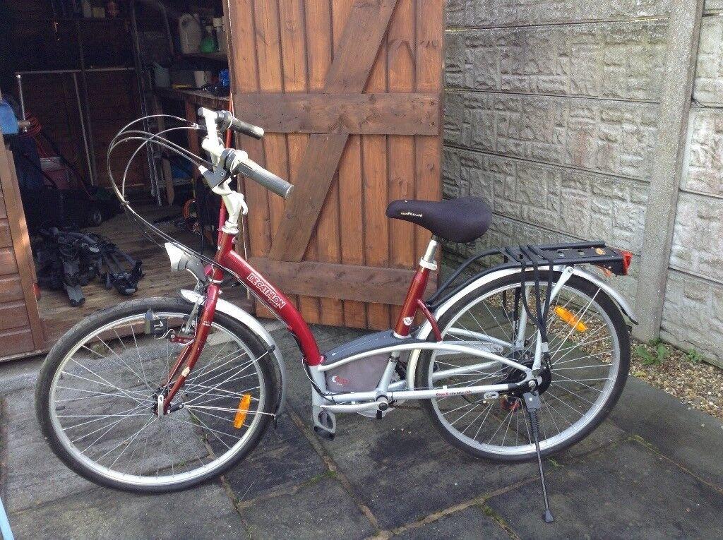 Decathlon unisex town bike
