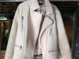 Ladies light pink jacket