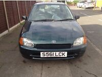 Toyota Starlet 1.3 - 1 OWNER LOW MILES