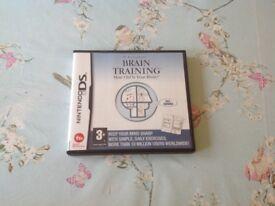 Nintendo DS game. Dr Kawashima's brain training