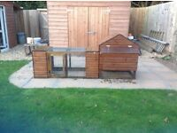Chicken coop, run and other accessories