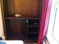 Beautiful, antique wooden wardrobe