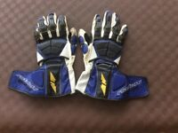 Motorcycle gloves, two pairs. Large