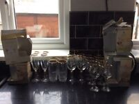 Lots of assorted drinking glasses £10 for all of them