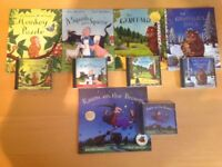 Julia Donaldson books - large collection of books and audio books.