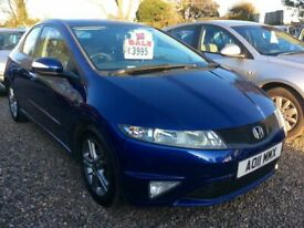 image for Honda, CIVIC, Hatchback, 2011, 1.4cc Full mot service history @ Aylsham Road Affordable Cars