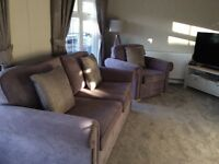 New sofa and chairs